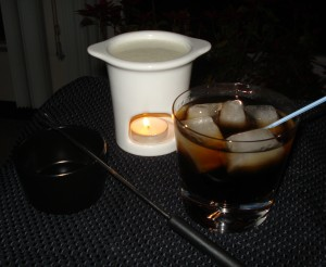 Gorgonzola Fondue & Black Russian
