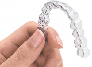 Standard Invisalign Stock Photo of Aligner
