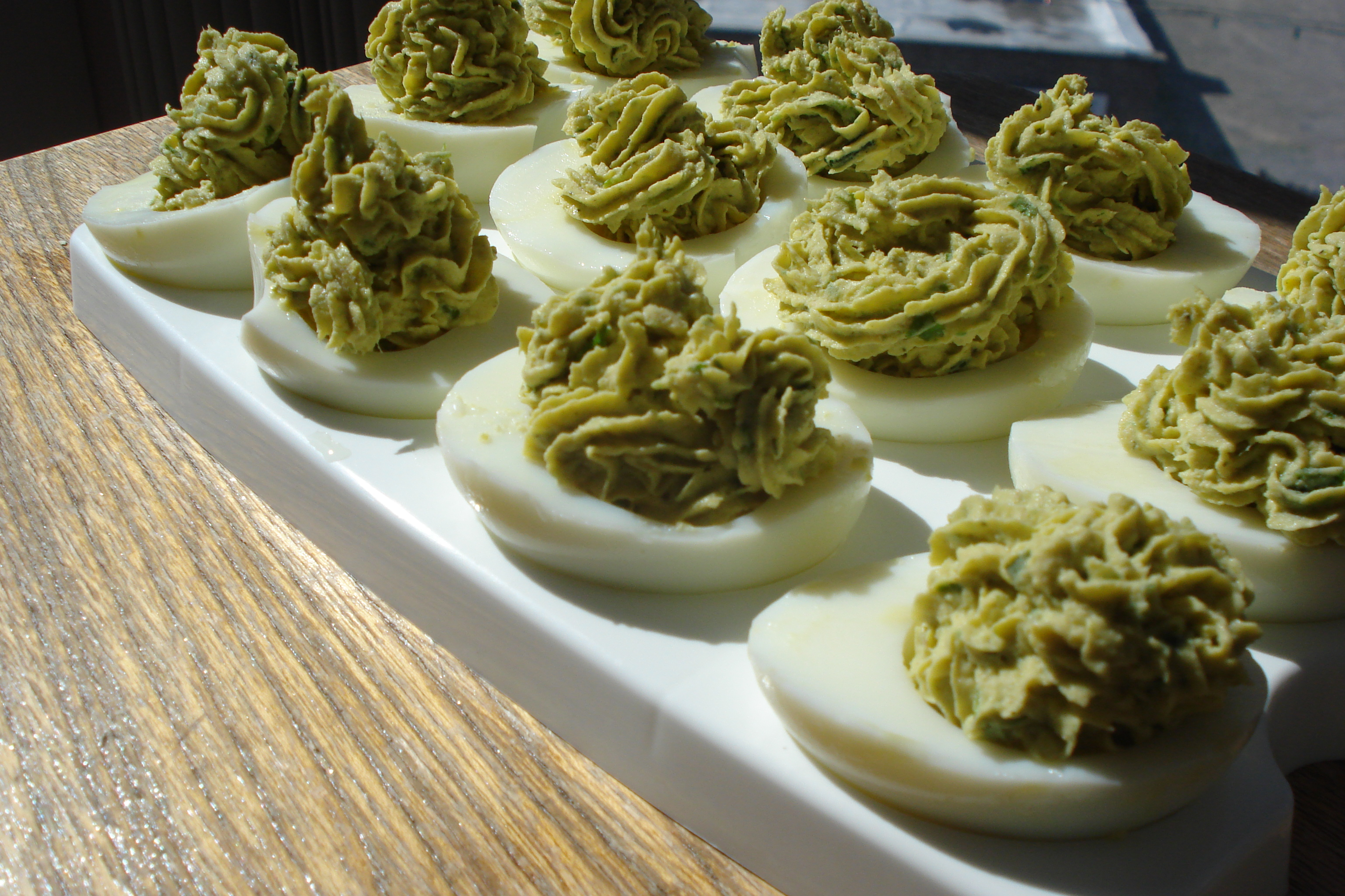Wasabi Deviled Eggs | S&S Blog