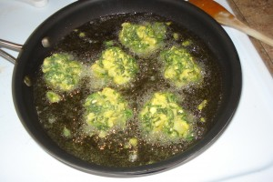 Pakora Frying